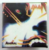 Def Leppard - 'Animal' Square Badge